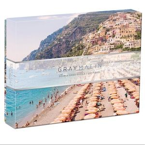 🇮🇹 GRAY MALIN Italy 2-Sided Jigsaw Puzzle